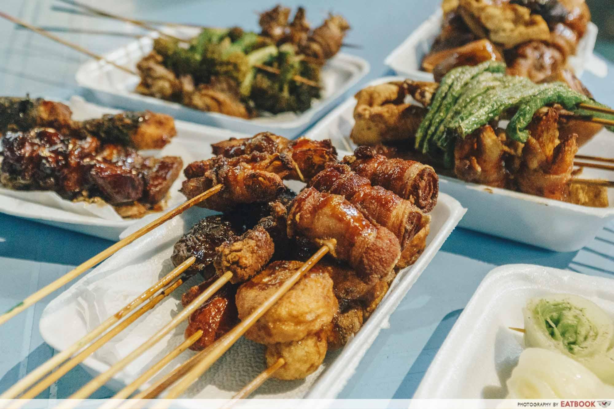 Johor Bahru Hawker Food - Fa Ge Lok Lok Skewers