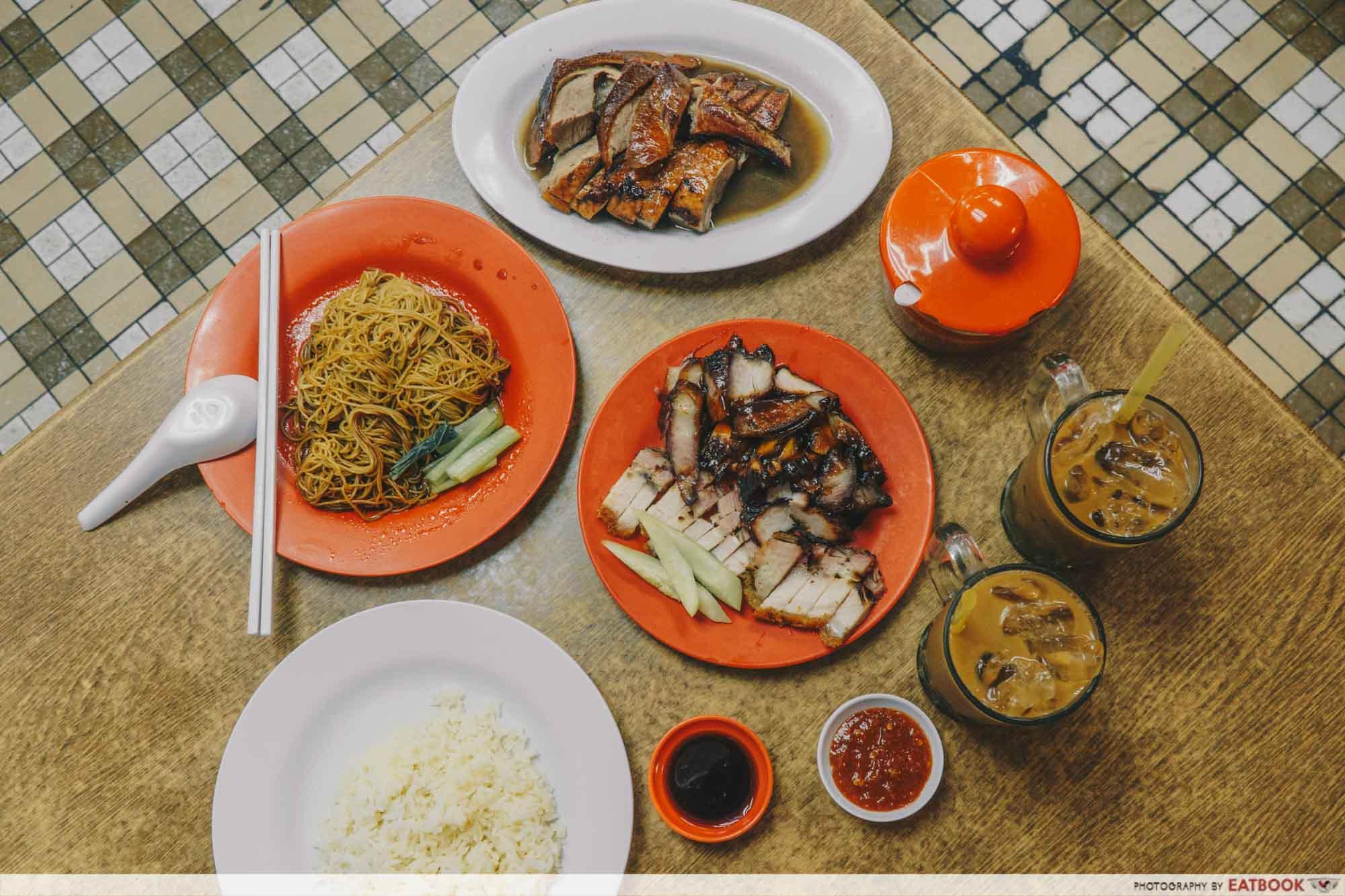 Johor Bahru Hawker Food - Restoran Ya Wang