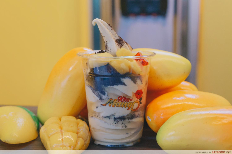 Kiss n Mango - Mango Oreo Sundae