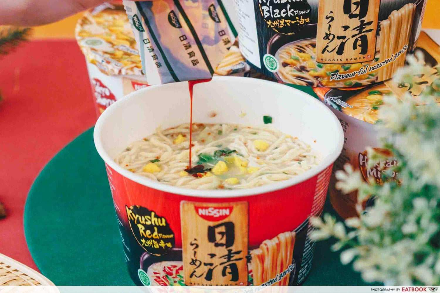NISSIN RAMEN - Garlic chilli oil