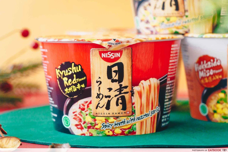 NISSIN RAMEN - Kyushu Black Garlic
