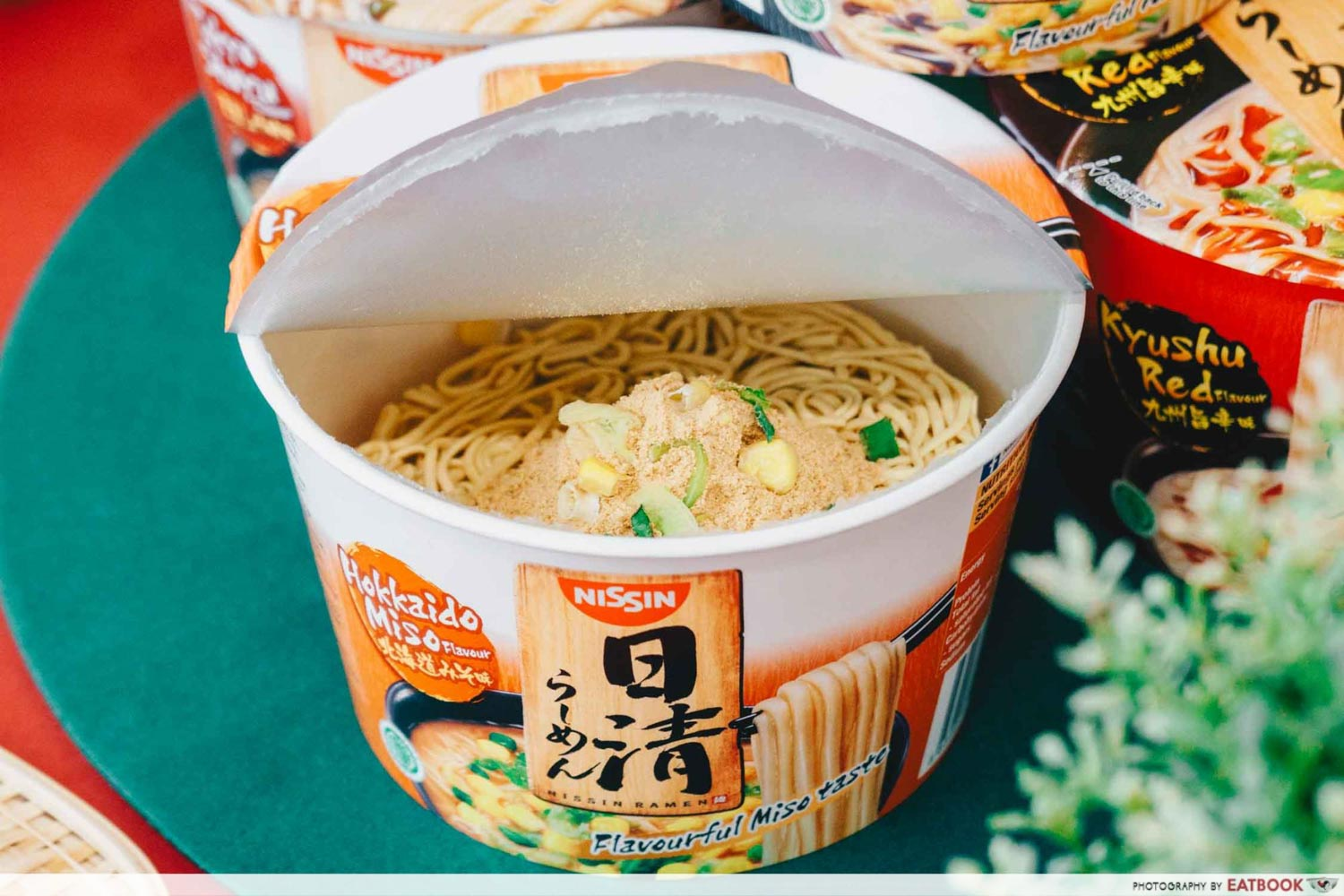 NISSIN RAMEN - Miso toppings