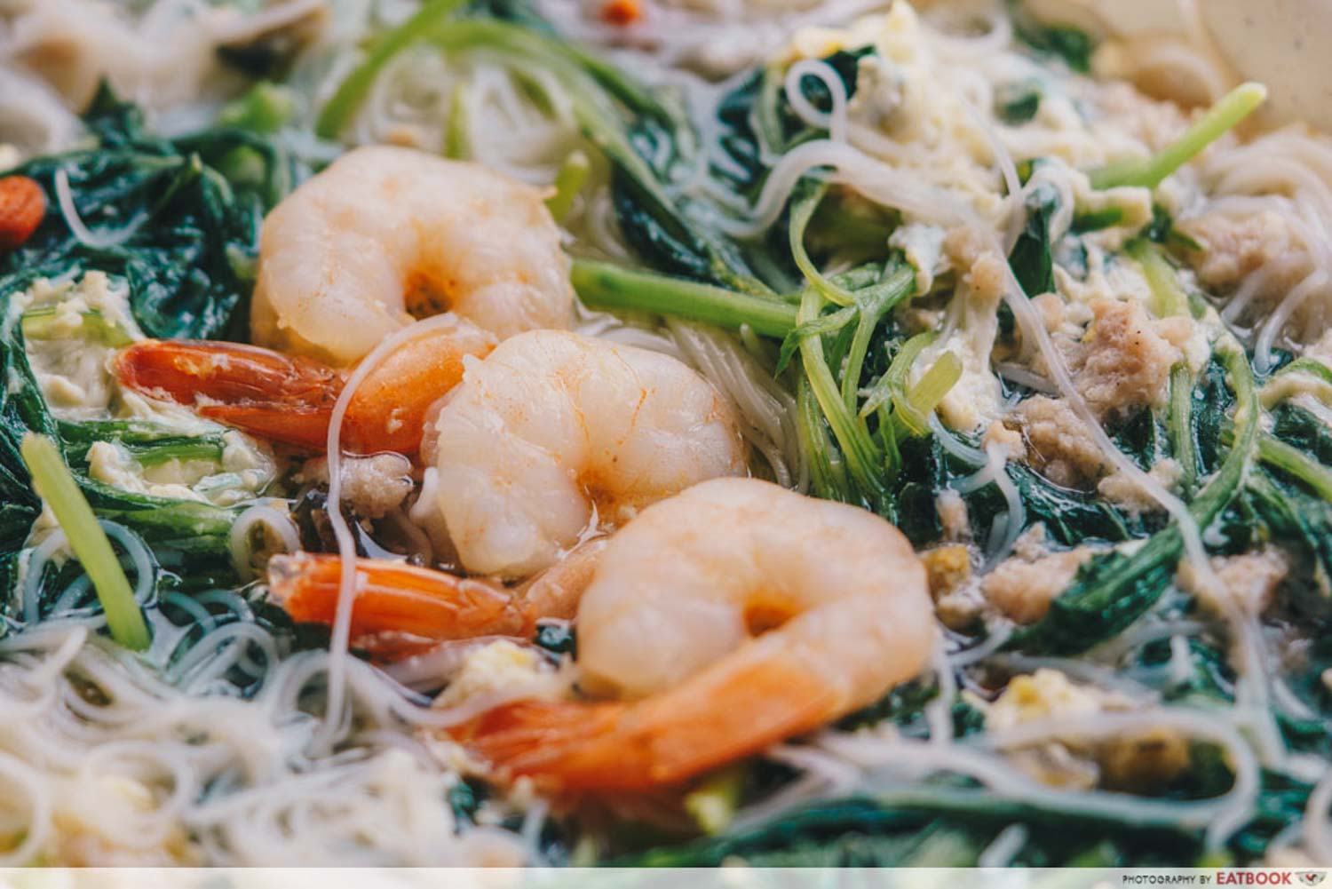 New Shop Spinach Soup - Prawns