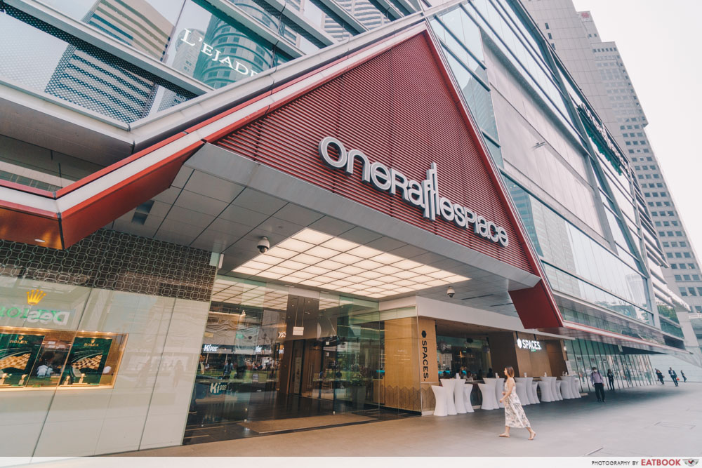 One Raffles Place - Entrance