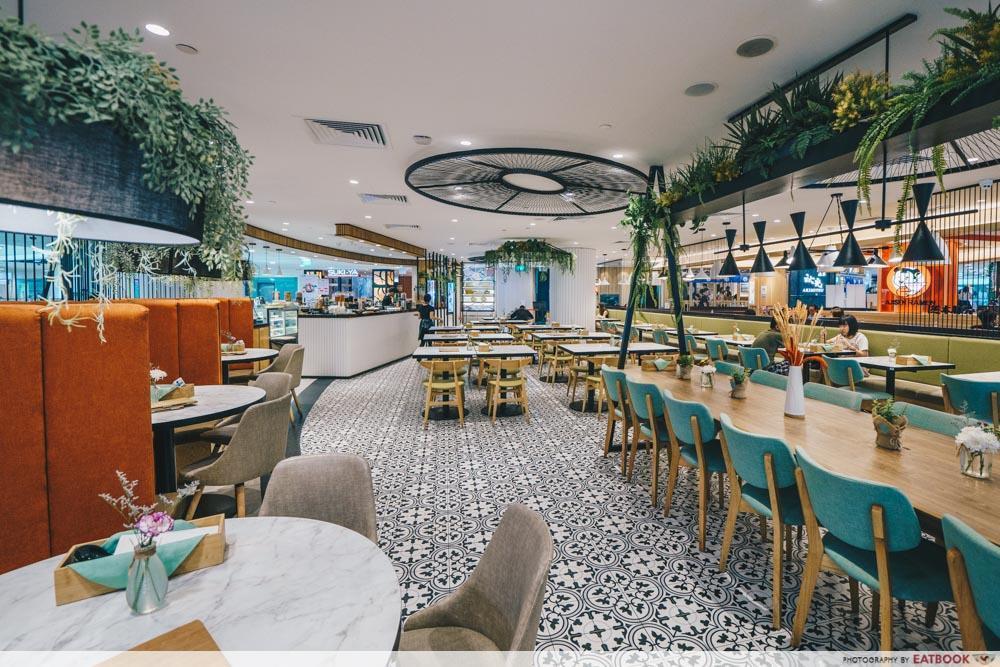 Typhoon Cafe interior