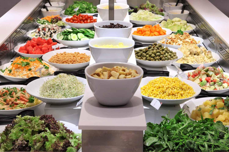 Salad Bar Buffets - Earle Swensen