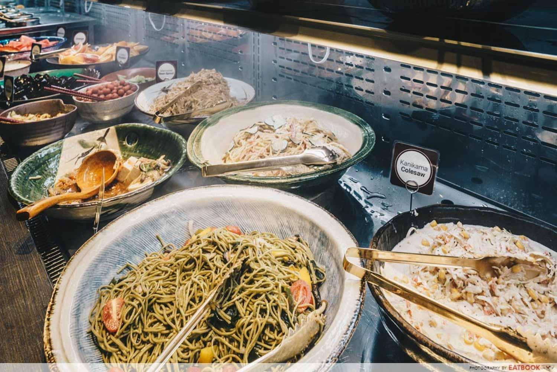 Salad Bar Buffets - Keisuke Charcoal Grill