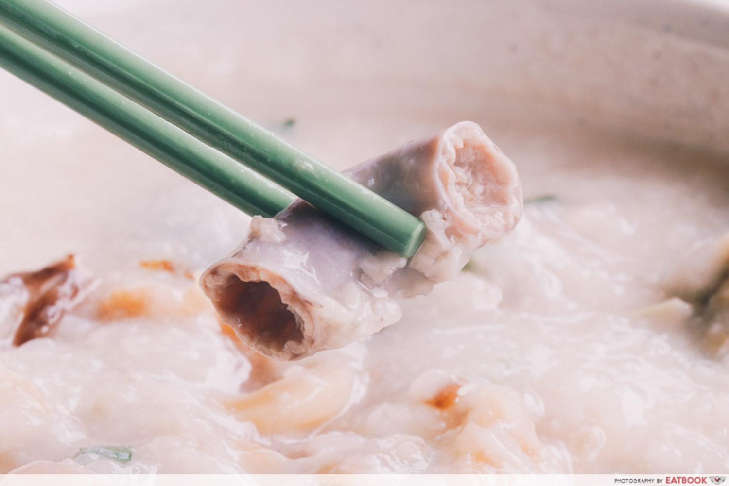 Weng Kiang Kee Porridge - Intestine