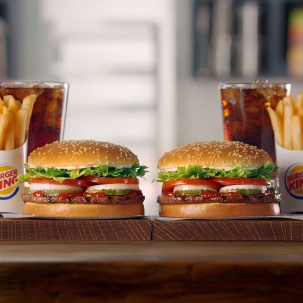 1-for-1 Whoppers - Two Burgers