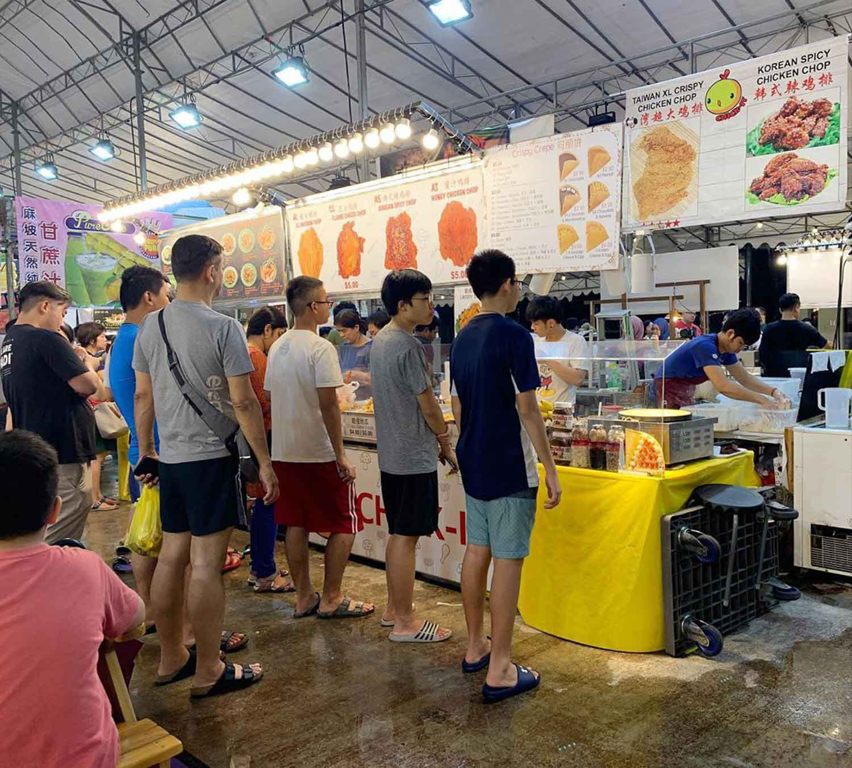 Bukit Panjang Pasar Malam - Ambience