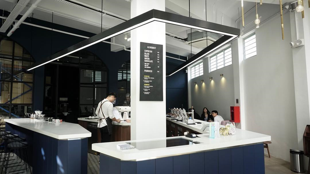 Coffee Cafes Singapore - Alchemist