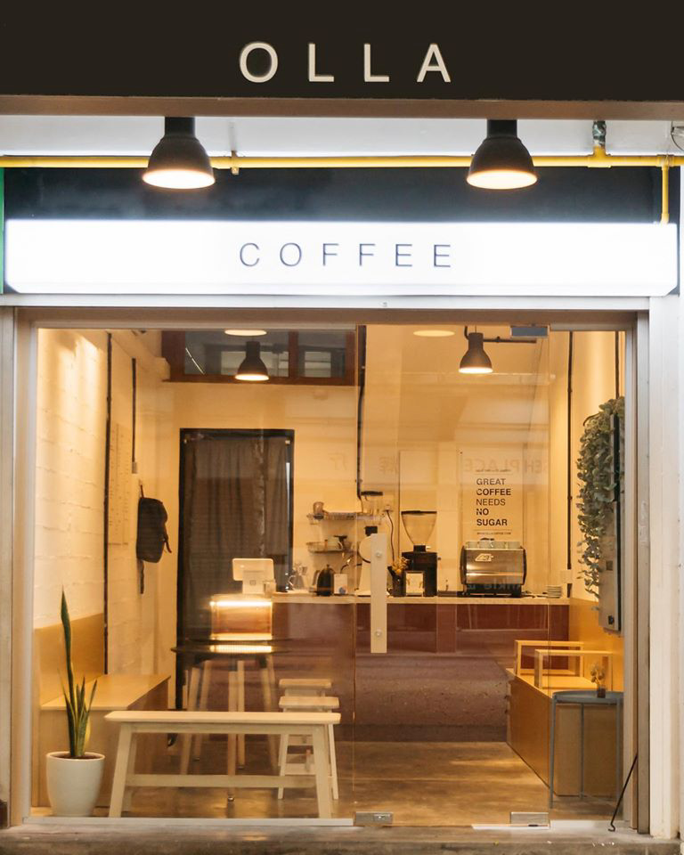 Coffee Cafes Singapore - Olla Specialty Coffee