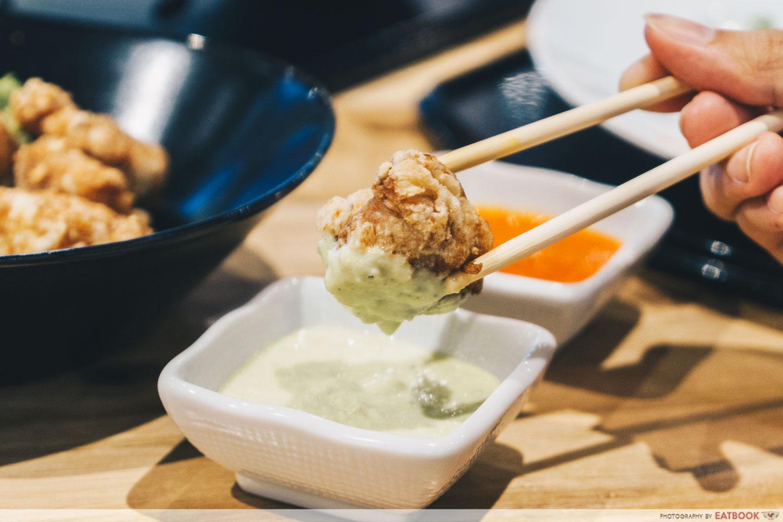 Chicken Karaage Wasabi Mayo