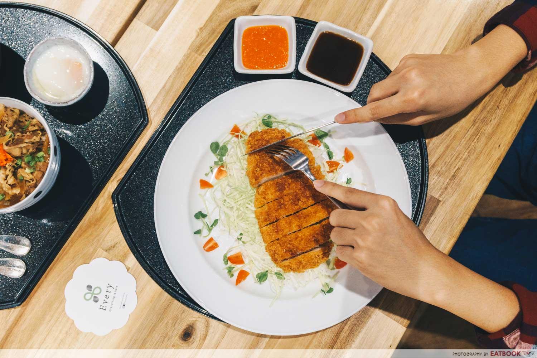 Spicy Pork Katsu Plate