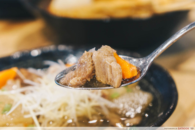 Wagyu Beef Tendon Stew