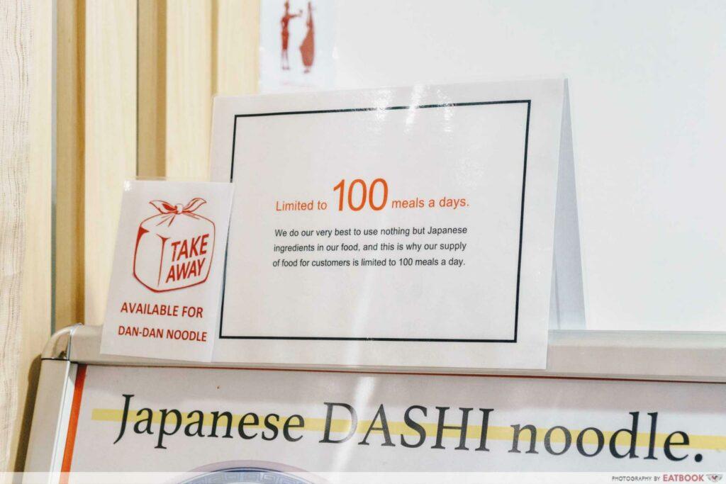 Enishi 100 bowls a day