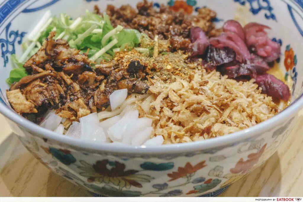 Enishi Dan Dan Noodles focus