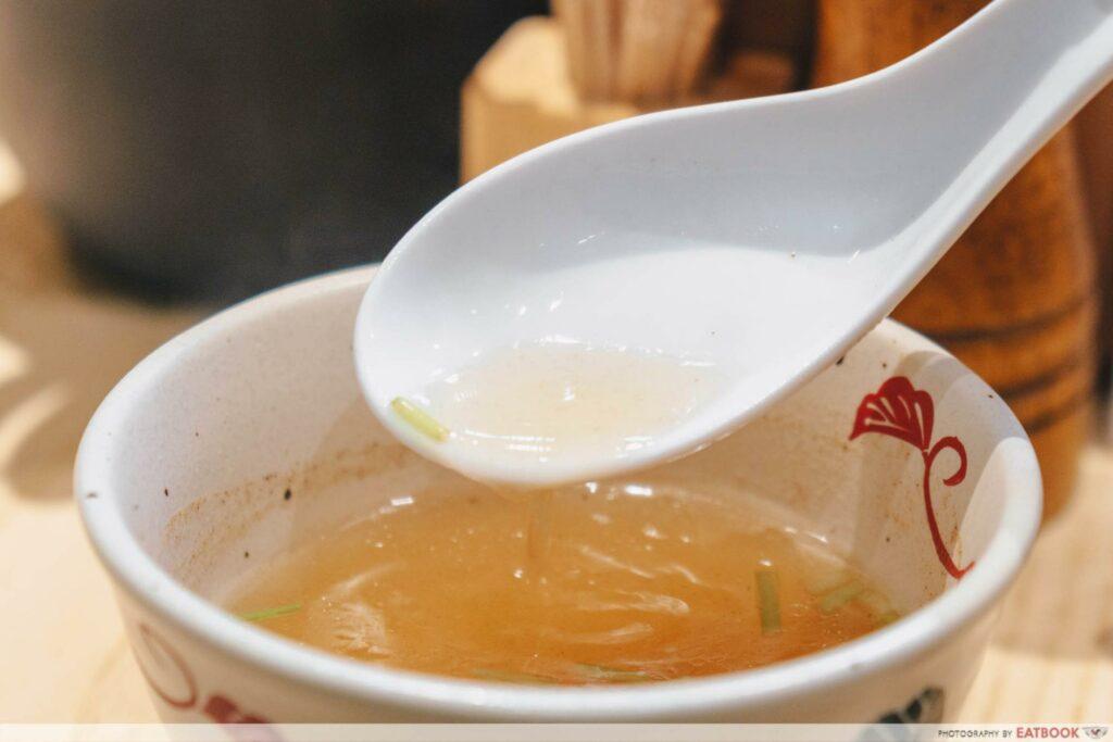 Enishi dry ramen soup