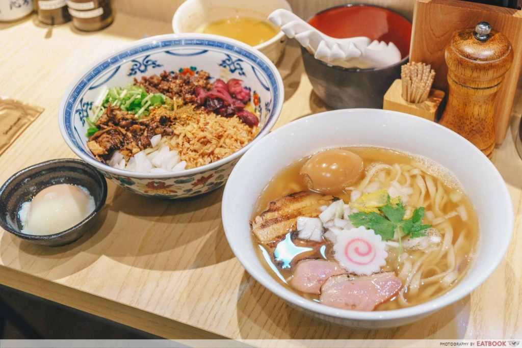 Enishi spread of food