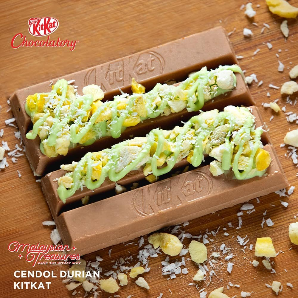 Kitkat Singapore Cendol Durian