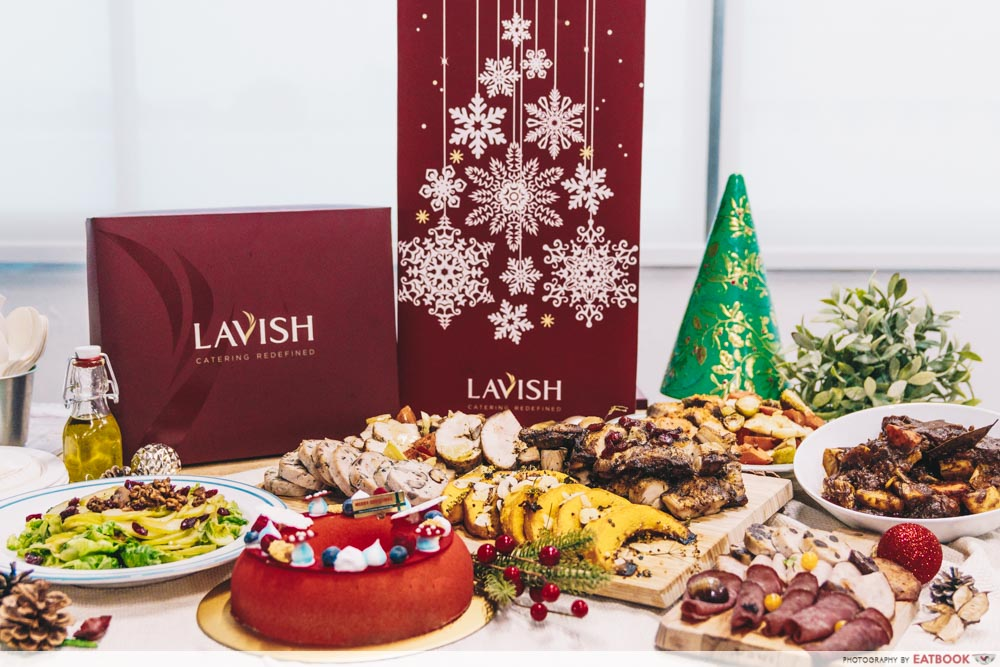 LAVISH Catering - Christmas Spread