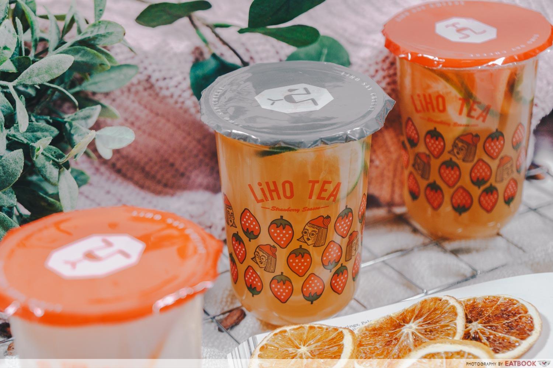 LiHO Beauty Tea Collagen Drink - Recherche Whitening Tea