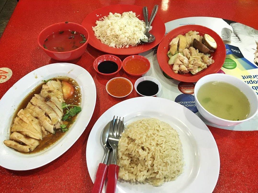 Golden Shoe Chicken Rice