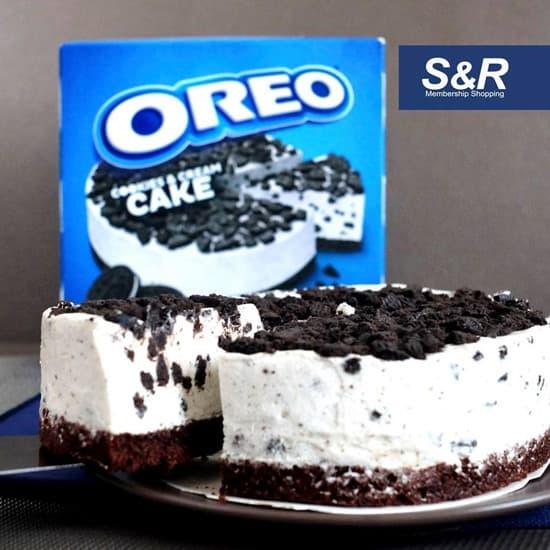 Oreo Cookies & Cream Cake