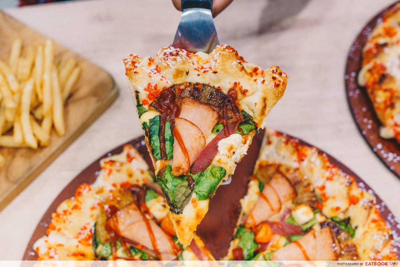 Pizza Hut - Slice Knotty Cheese Ham