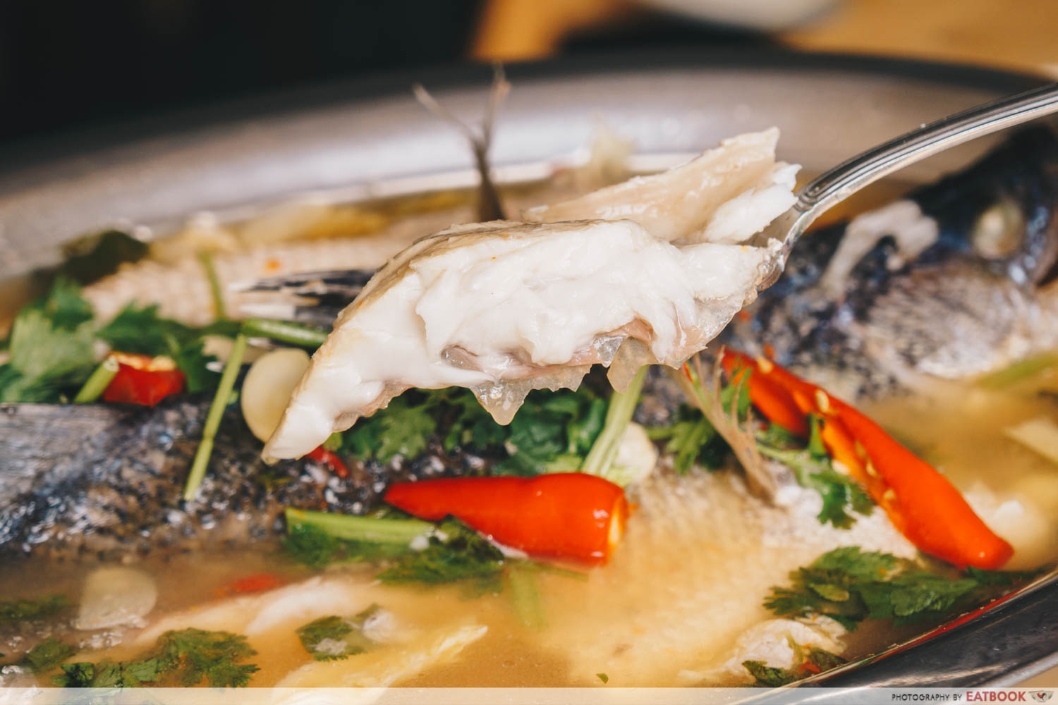 Thai By The Park - Steamed Chilli Lime Seabass