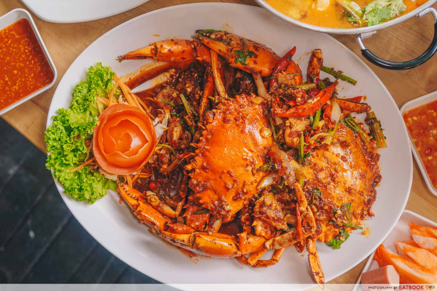 Thai By The Park - Thai Chilli Crab