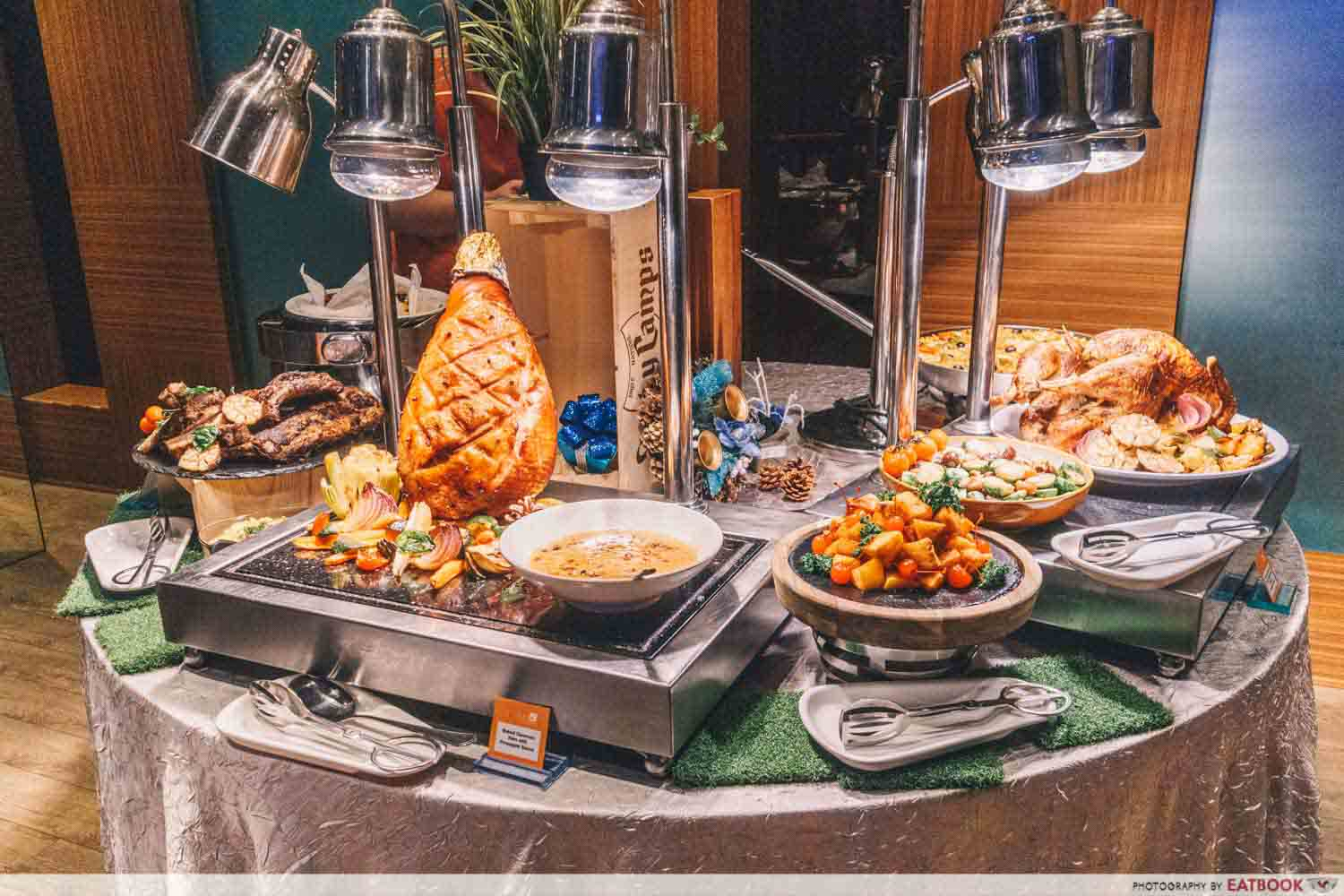 The Square - Christmas buffet