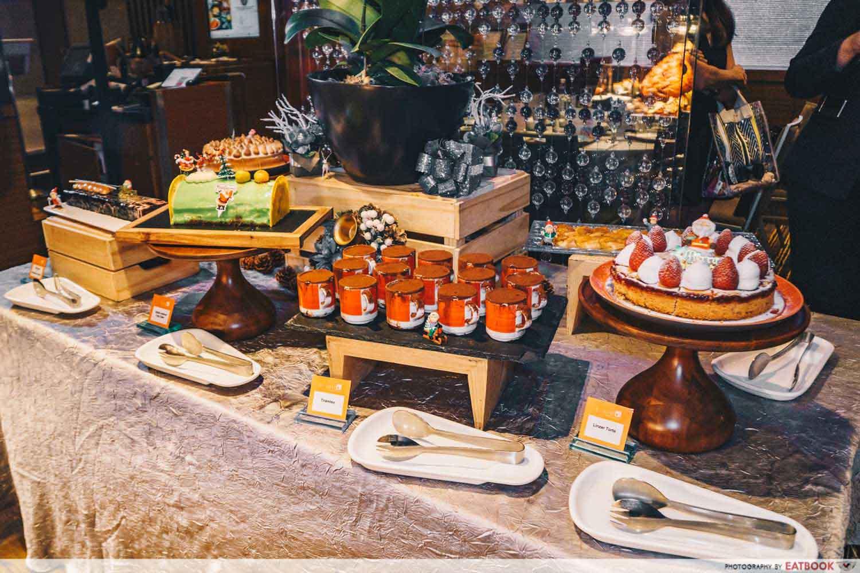 The Square - Dessert table