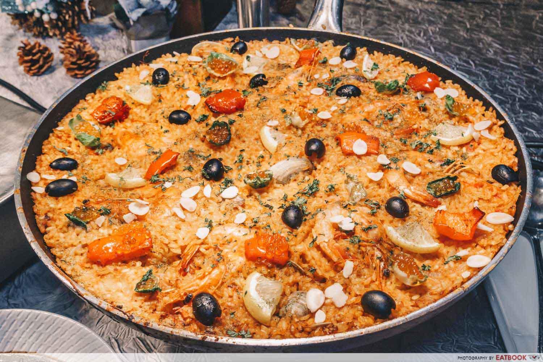 The Square - Seafood Paella