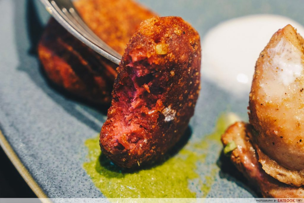 Tiffin Room - Beetroot Kebab
