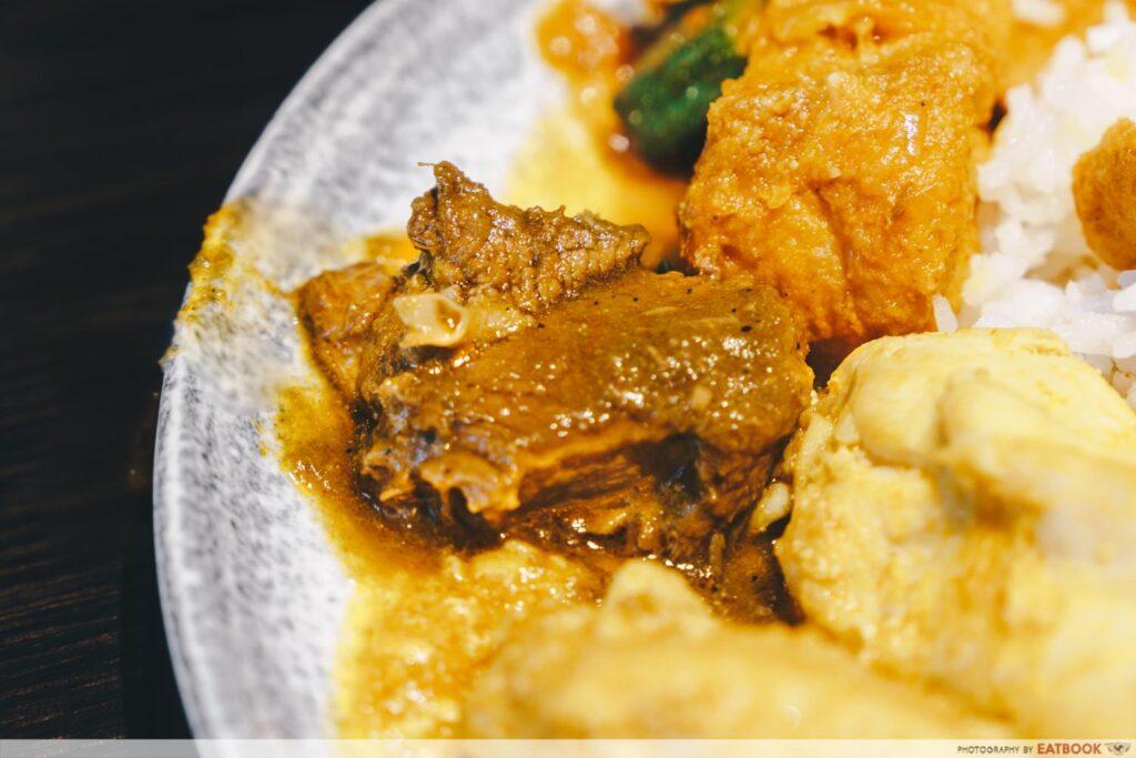 Tiffin Room Curry - Rajasthani Laal Maas smoked lamb curry