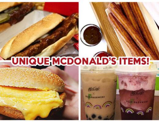 Unique McDonald's Food