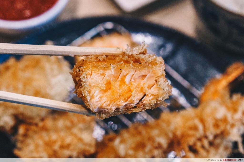 shiokoji Tonkatsu Keisuke salmon