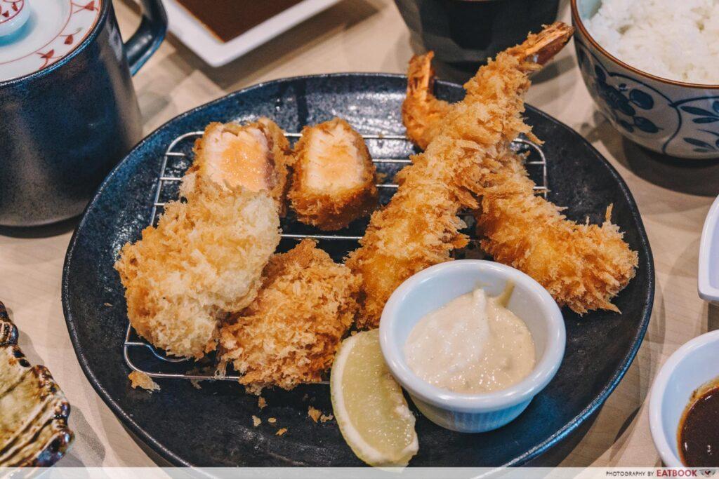 shiokoji Tonkatsu Keisuke seafood
