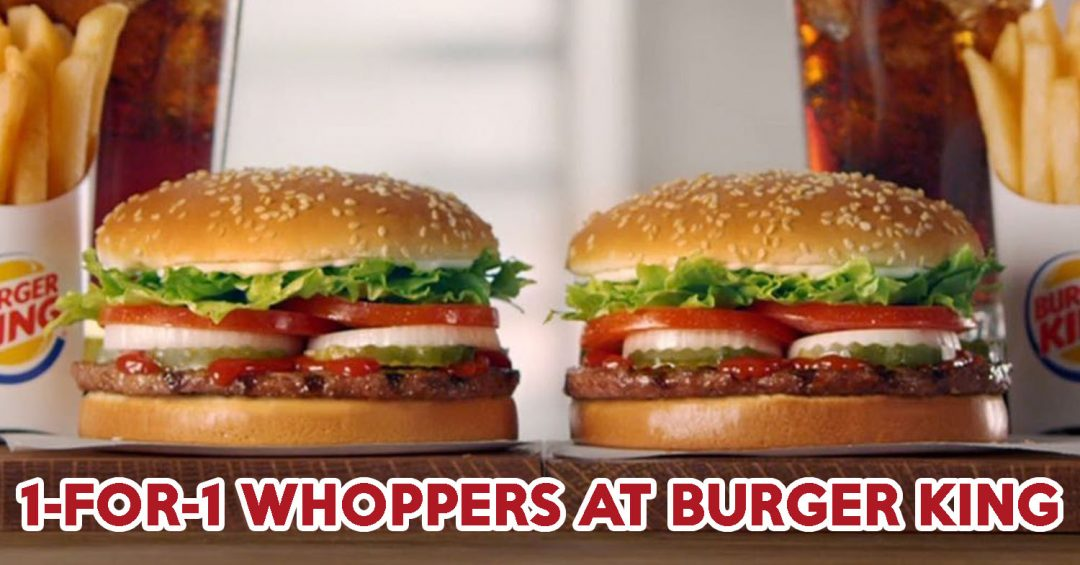 1-for-1 Whoppers - Feature Image
