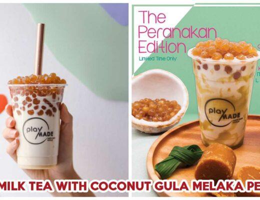 Playmade Kaya Milk tea