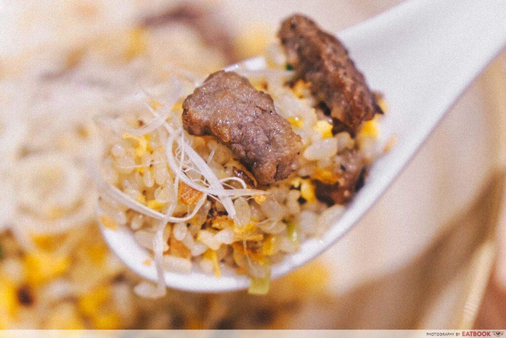 Best Restaurants in singapore Kiwami-Miyazaki-Wagyu-Garlic-Fried-Rice-2