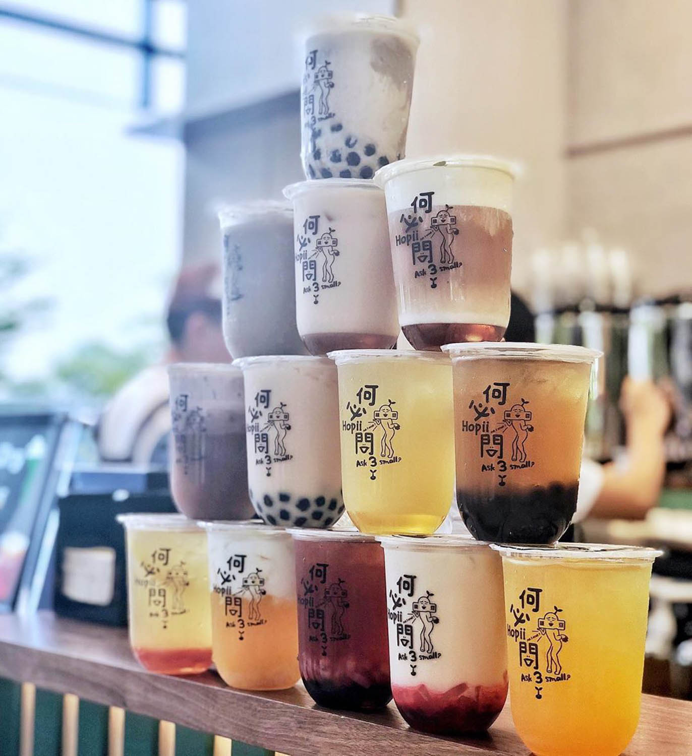 Bubble Tea Shops - Hopii SG