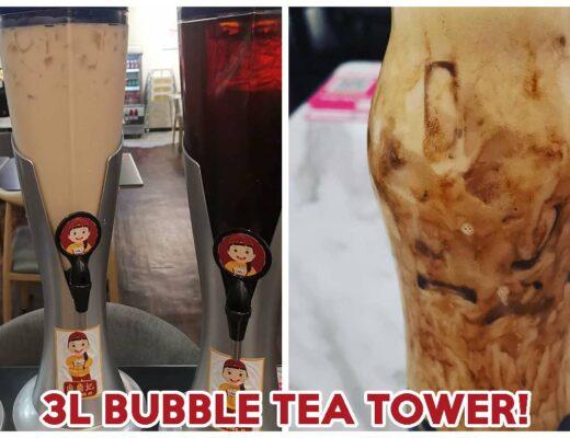 Bubble Tea Tower Cover