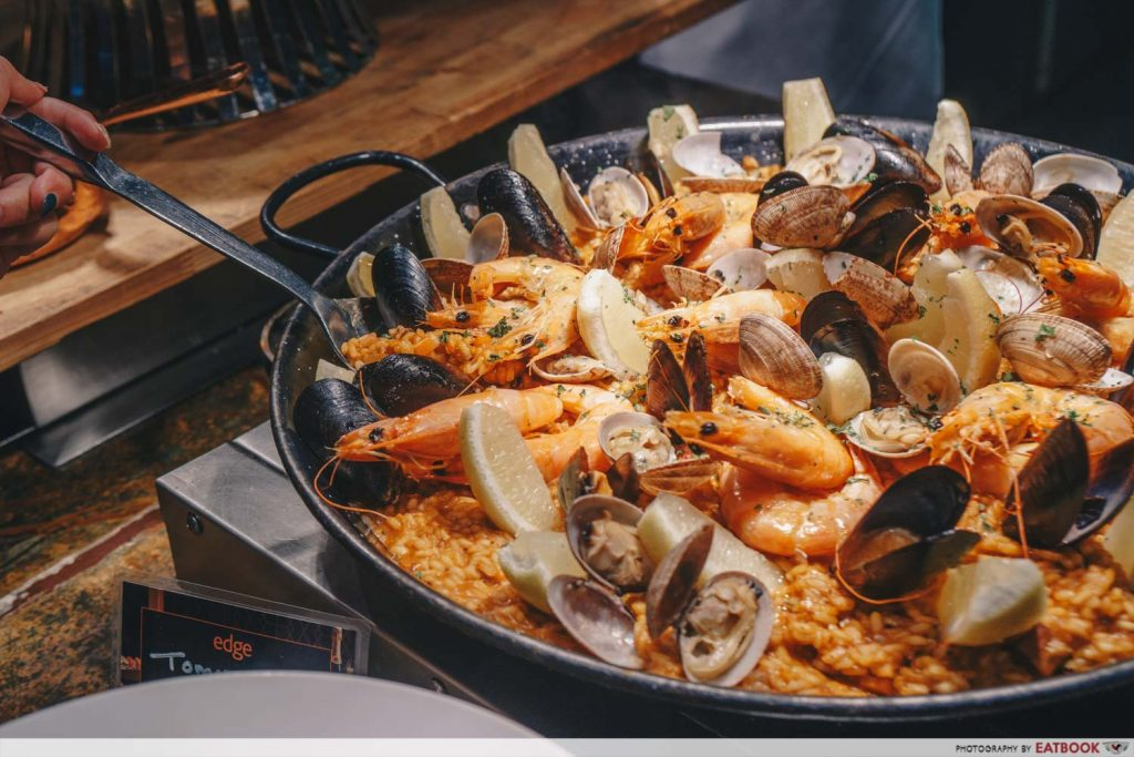 Edge Pan Pacific Paella