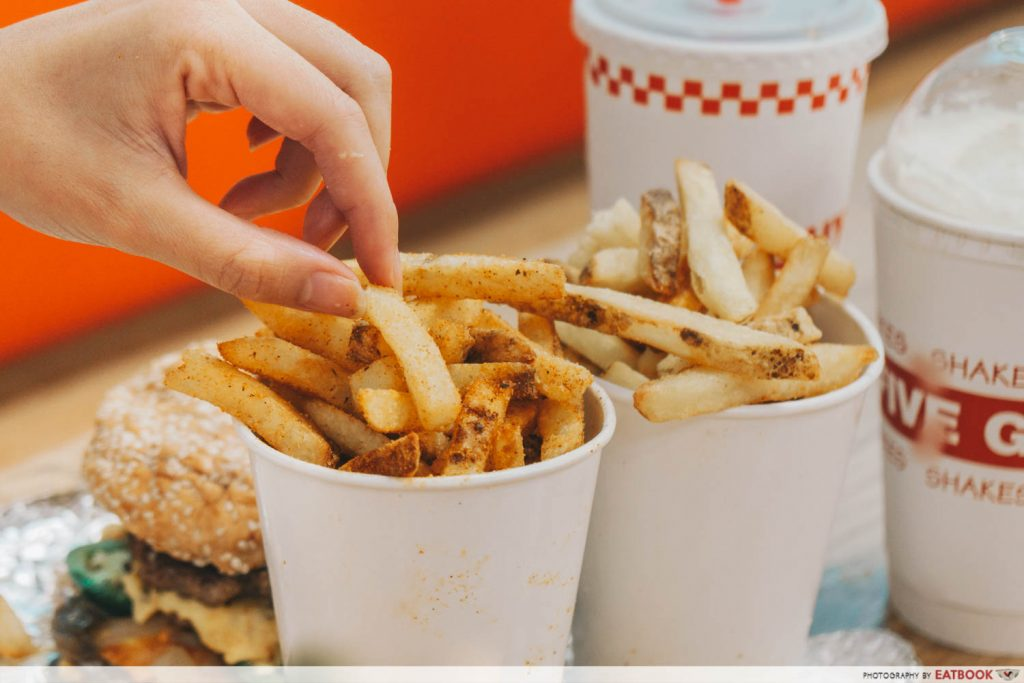Five Guys Singapore French Fries