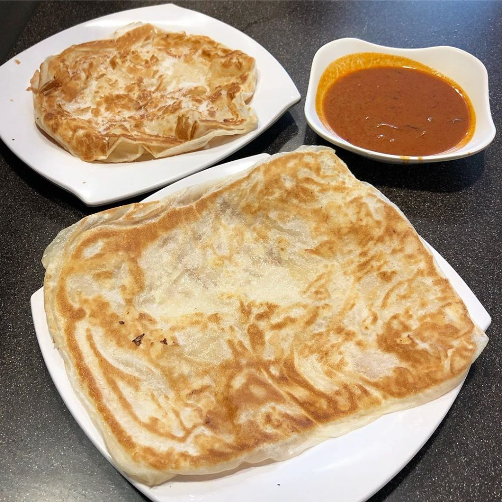 Food Places In The West Jalan Kayu Prata Cafe