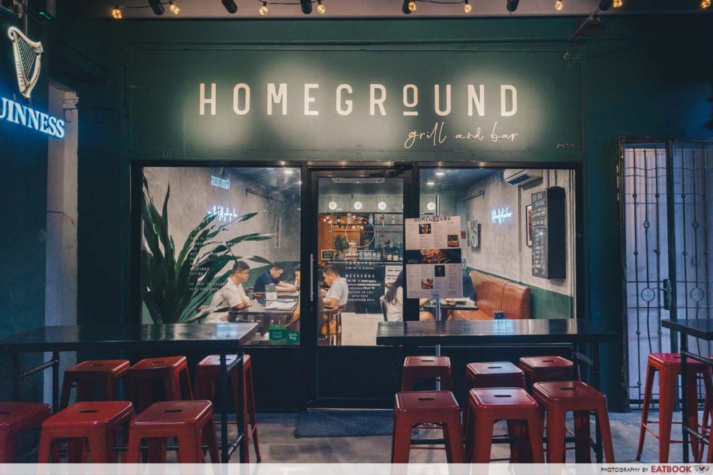 Homeground Grill And Bar Shop
