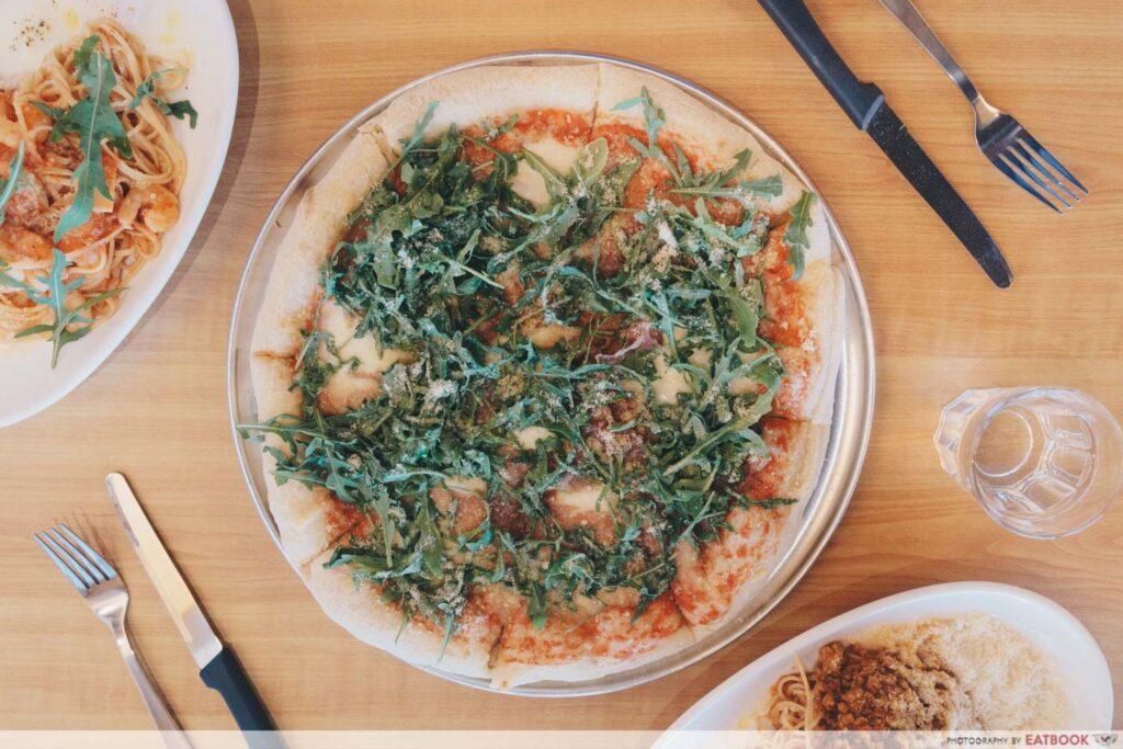 Italian Osteria X parma ham pizza