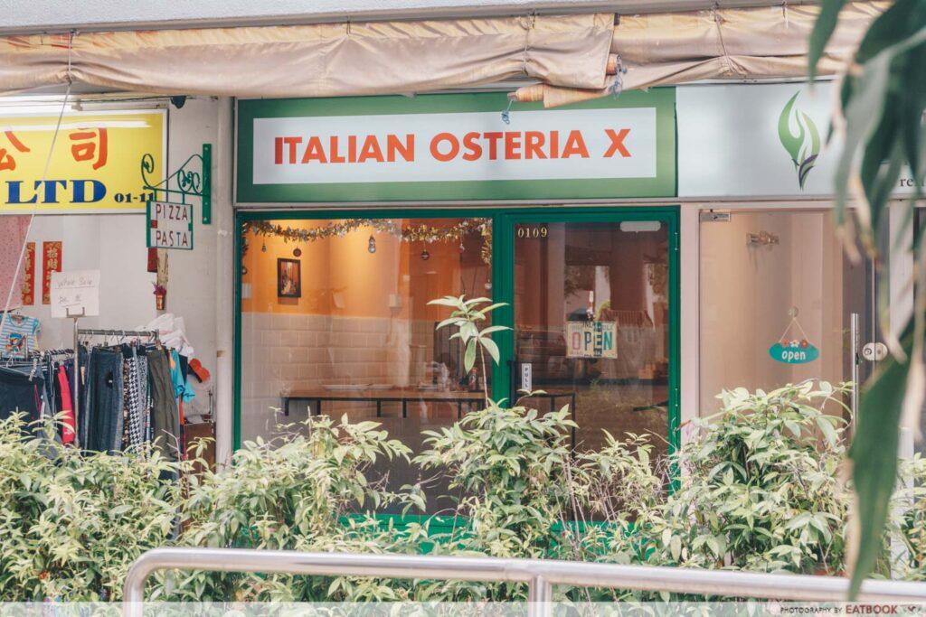 Italian Osteria X store front